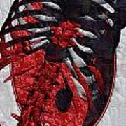 Torso Skeleton Poster