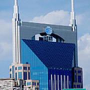 9th Avenue Att Building Nashville Poster