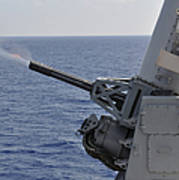 A Close-in Weapons System Aboard Poster