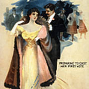 A Contented Woman, C1898 Poster