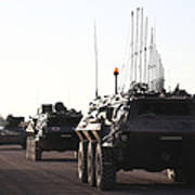 A Convoy Of German Army Tpz Fuchs Poster