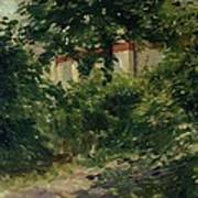 A Corner Of The Garden In Rueil Poster