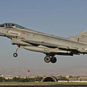 A Eurofighter F-2000 Of The Italian Air Poster