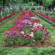 A Formal Garden Poster