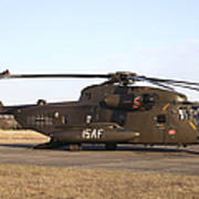 A German Ch-53gs Helicopter At Stendal Poster