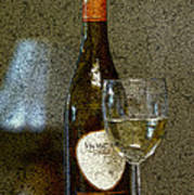 A Glass For Dinner Poster