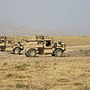A Pair Of U.s. Army Cougar Mrap Poster