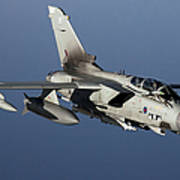 A Panavia Tornado Gr4 Of The Royal Air Poster by Gert Kromhout