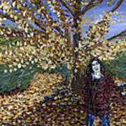 A Portrait Of The Artist's Mother In Autumn Poster