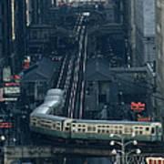 A Railway Encircles Thirty-five Blocks Poster
