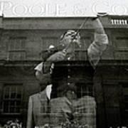 Savile Row London Poster