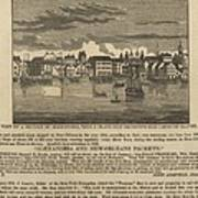 A Ship Of Slaves In 1836 Leaving Poster
