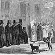 A Slave-pen At New Orleans Before Poster by Photo Researchers