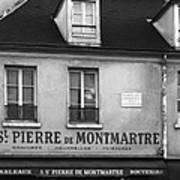 A St Pierre De Montmartre In Paris Poster