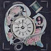 A Stitch In Time Poster by Patsy Sharpe