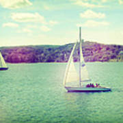 A Summer Sailing Adventure Poster