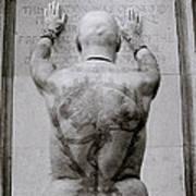 Tattooed Man Poster