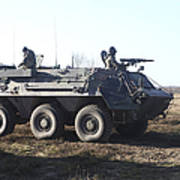 A Tpz Fuchs Armored Personnel Carrier Poster