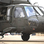 A Uh-60 Black Hawk Taxis Poster