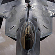 A U.s. Air Force F-22 Raptor Poster by Stocktrek Images