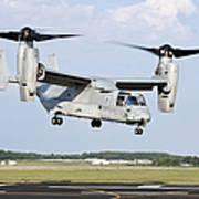 A U.s. Marine Corps Mv-22 Osprey Lifts Poster