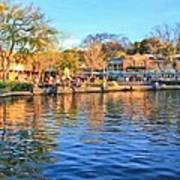A View Of Disneyland From Tom Sawyer Island  Poster