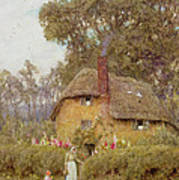 A Wiltshire Garden Poster