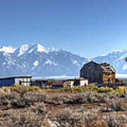 Abandonded Homestead In San Luis Valley Poster