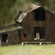 Abandoned Barn Poster by Dale Stillman