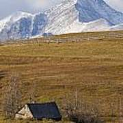 Abandoned Farmhouse Outside Of Waterton Poster