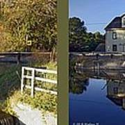 Abbotts Pond - Gently Cross Your Eyes And Focus On The Middle Image Poster
