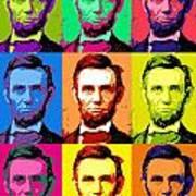 Abe Pop Poster