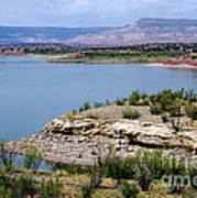 Abiquiu Lake New Mexico Poster