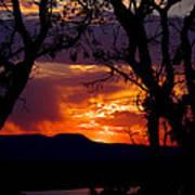 Abiquiu Sunset II Poster