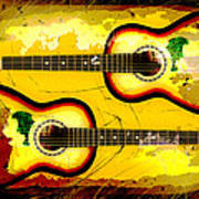 Abstract Acoustic Poster