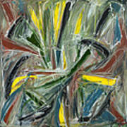 Abstract Art Fifteen Poster