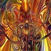 Abstract Medusa Fx   Poster