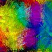 Abstract Multi Colors Poster