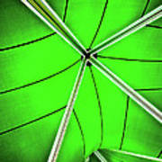 Abstract Of Green Poster