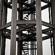 Abstract Water Tower Poster