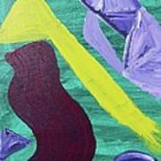 Abstract Woman Poster
