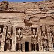 Abu Simbel Egypt 3 Poster
