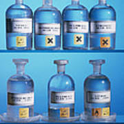 Acid Bottles Poster