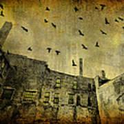 Industrial Acid Urban Sky Poster