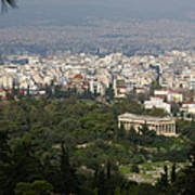 Acropolis View Of Athens Poster
