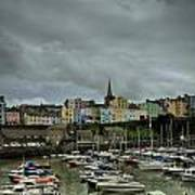 Across Tenby Harbour Poster