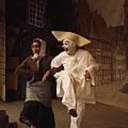 Actors Perform Pantomimes At Tivoli Poster by Sisse Brimberg