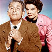 Adams Rib, From Left Spencer Tracy Poster