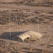 Aerial View Of A Destroyed Iraqi Poster