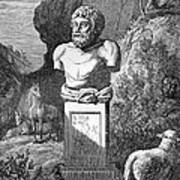 Aesop, Ancient Greek Fabulist Poster by